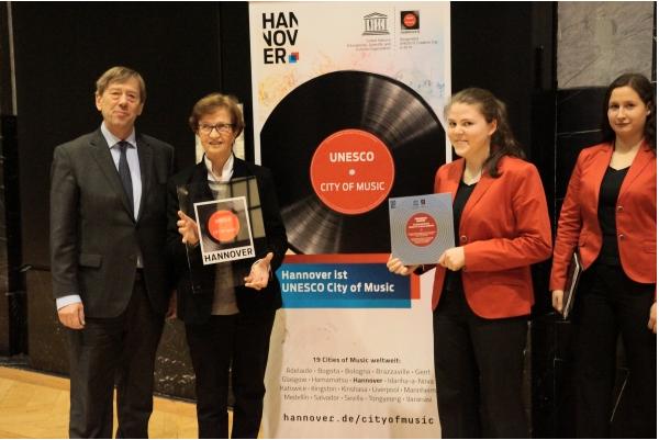 Mädchenchor Botschafter der Unesco-Stadt Hannover